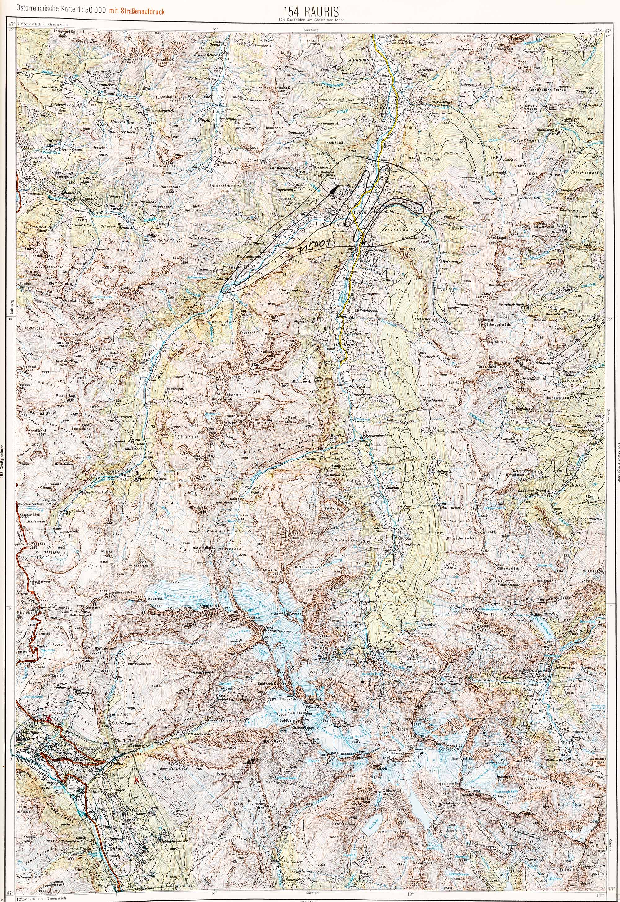1975-1979 Karte 154
