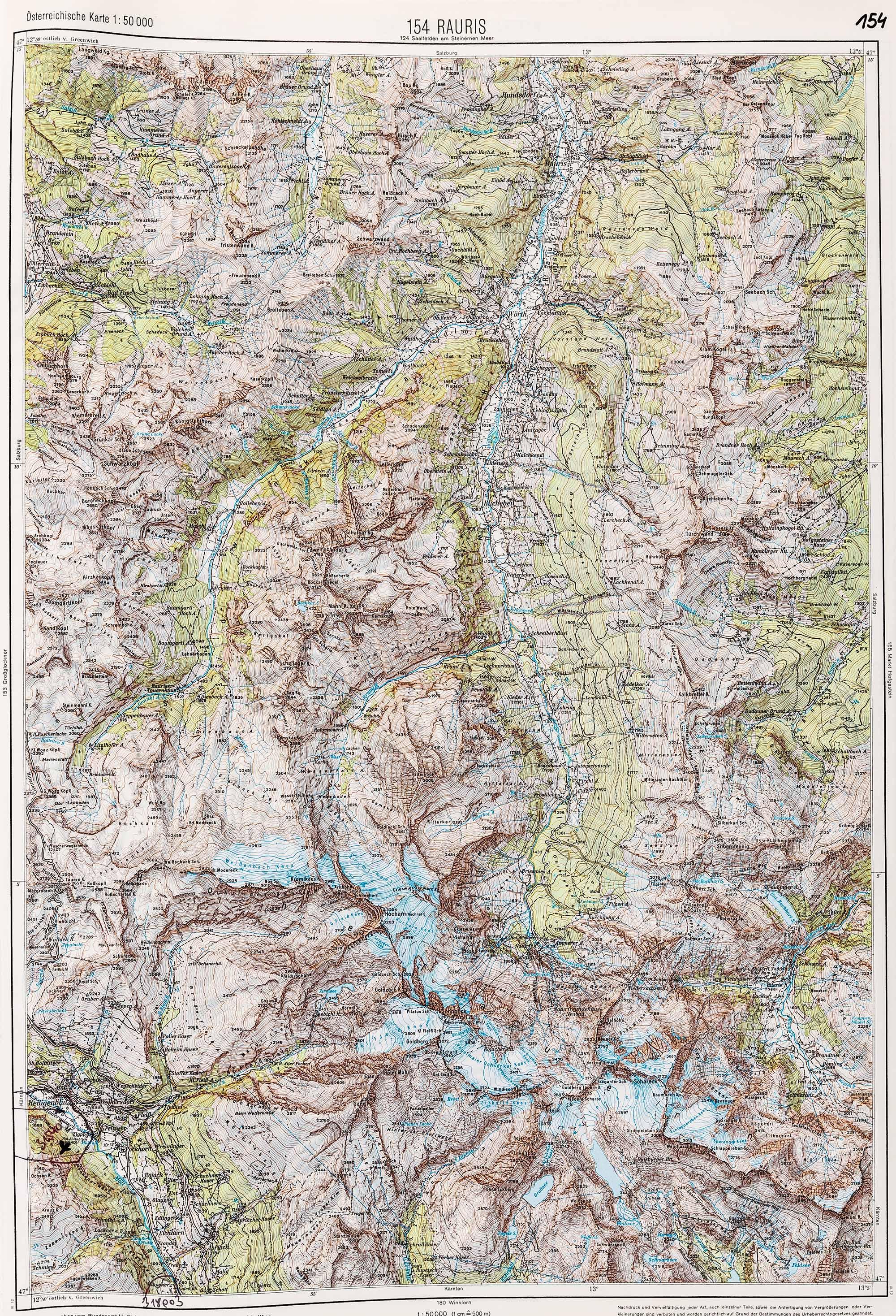 1983-1986 Karte 154