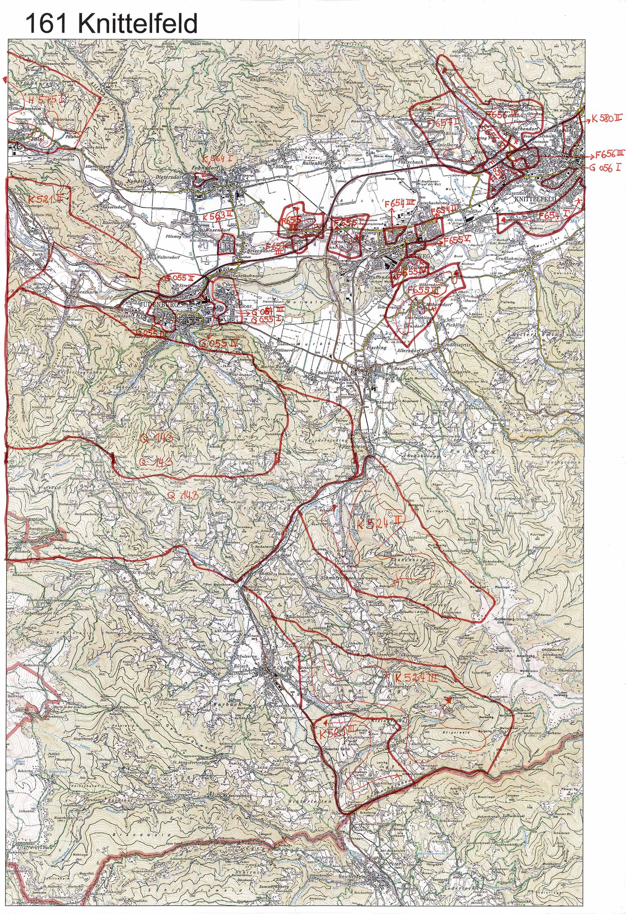 aerofoto. Karte 161