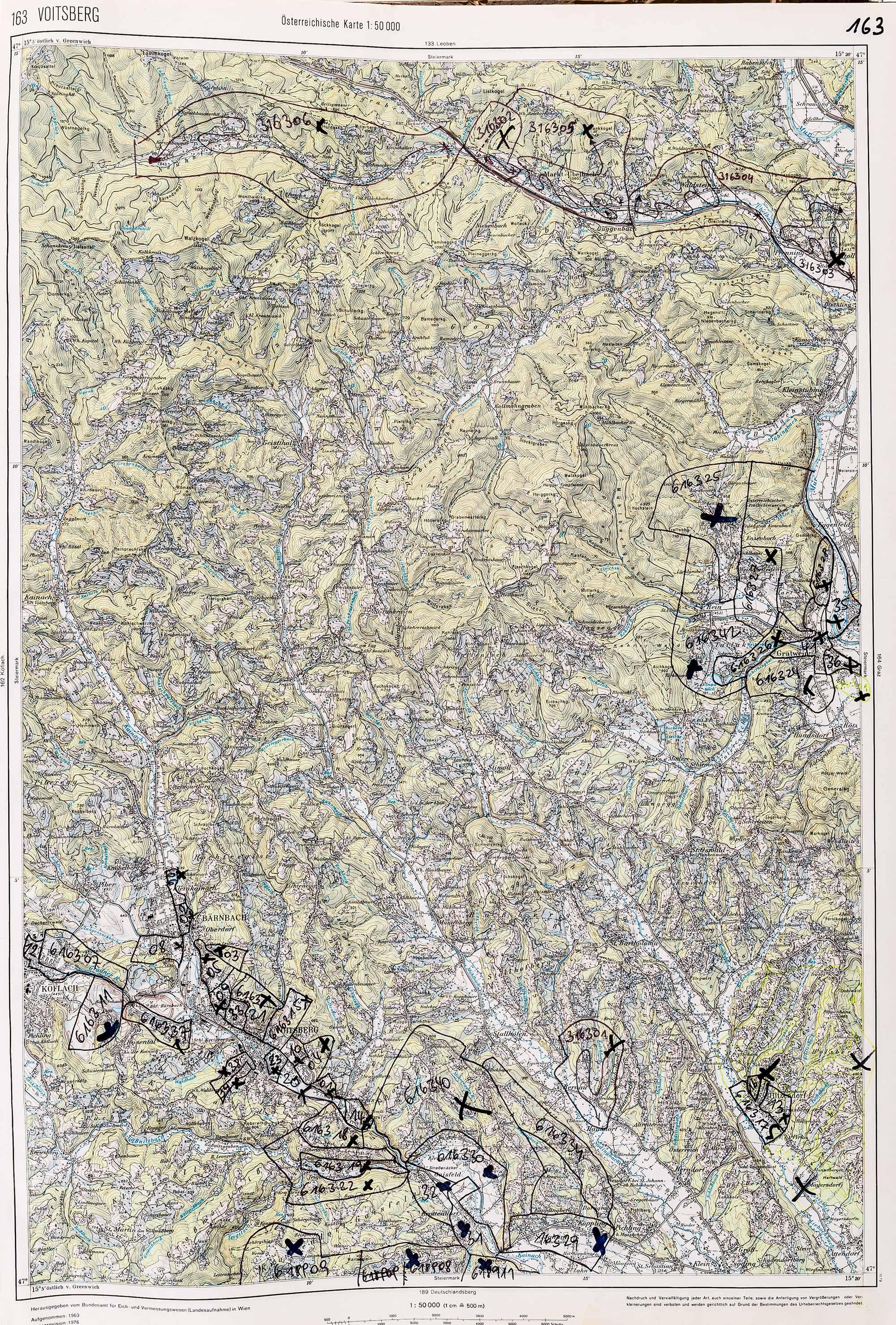 1983-1986 Karte 163