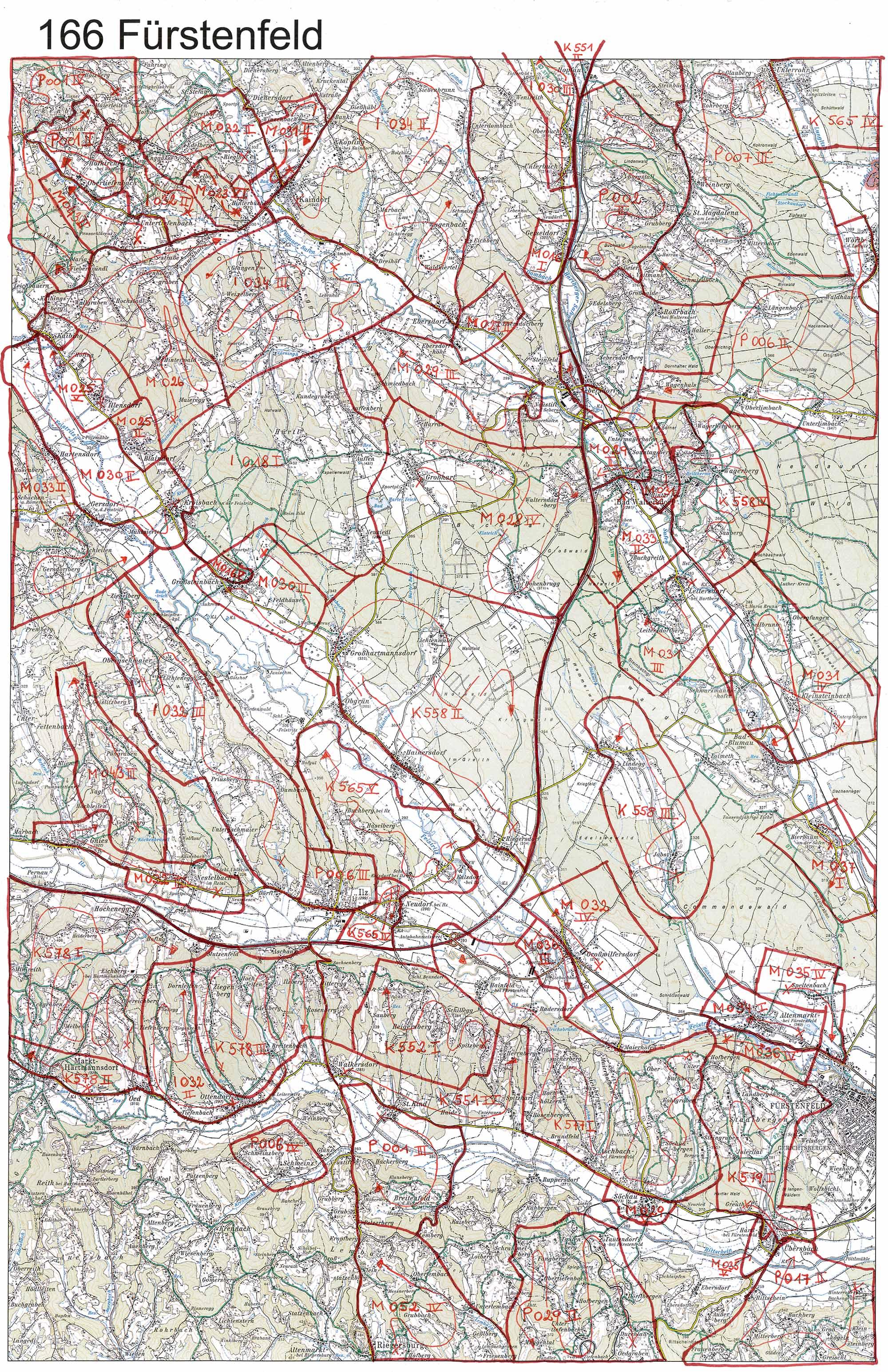aerofoto- Karte 166