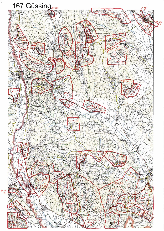 aerofoto- Karte 167