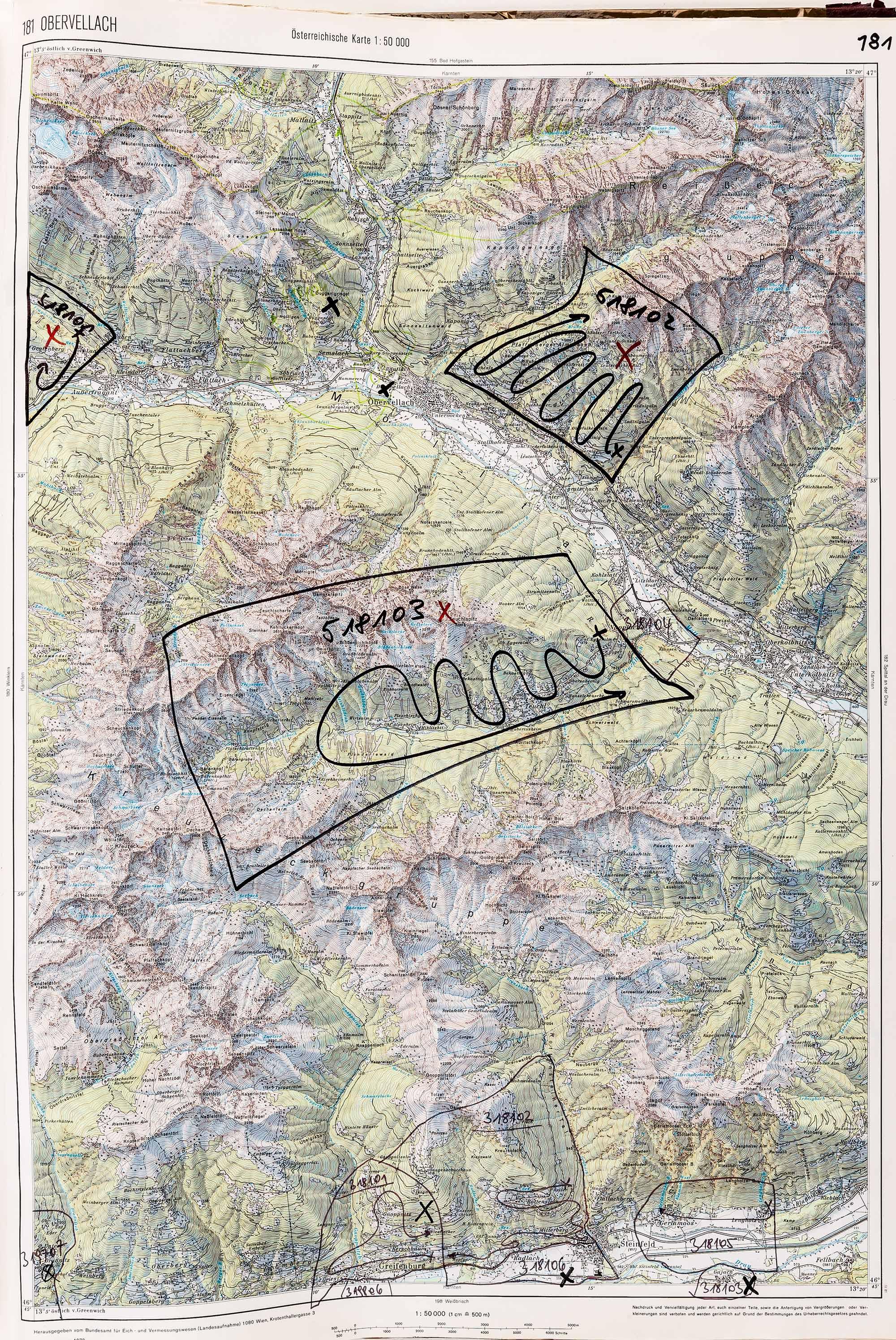 1983-1986 Karte 181