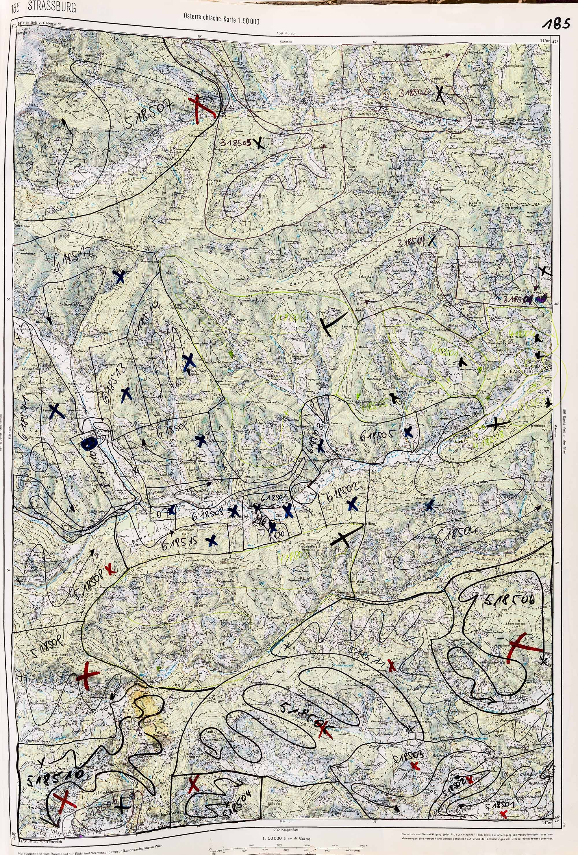 1983-1986 Karte 185