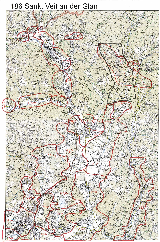 aerofoto. Karte 186