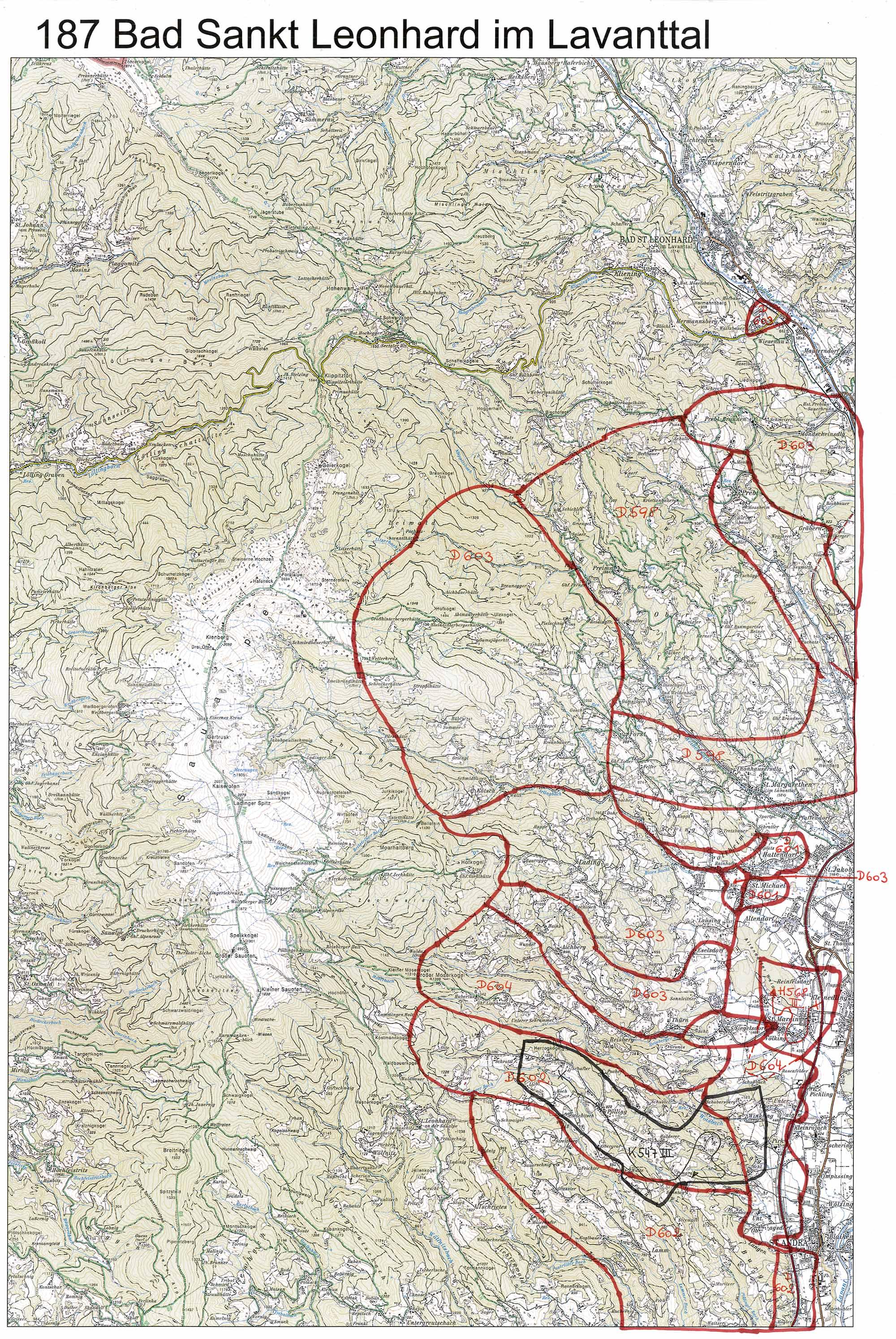 aerofoto. Karte 187