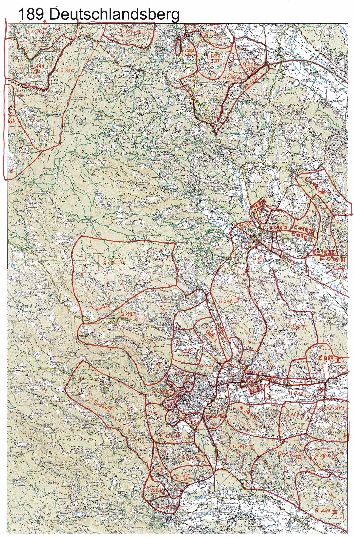 Aerofoto-III Karte 189