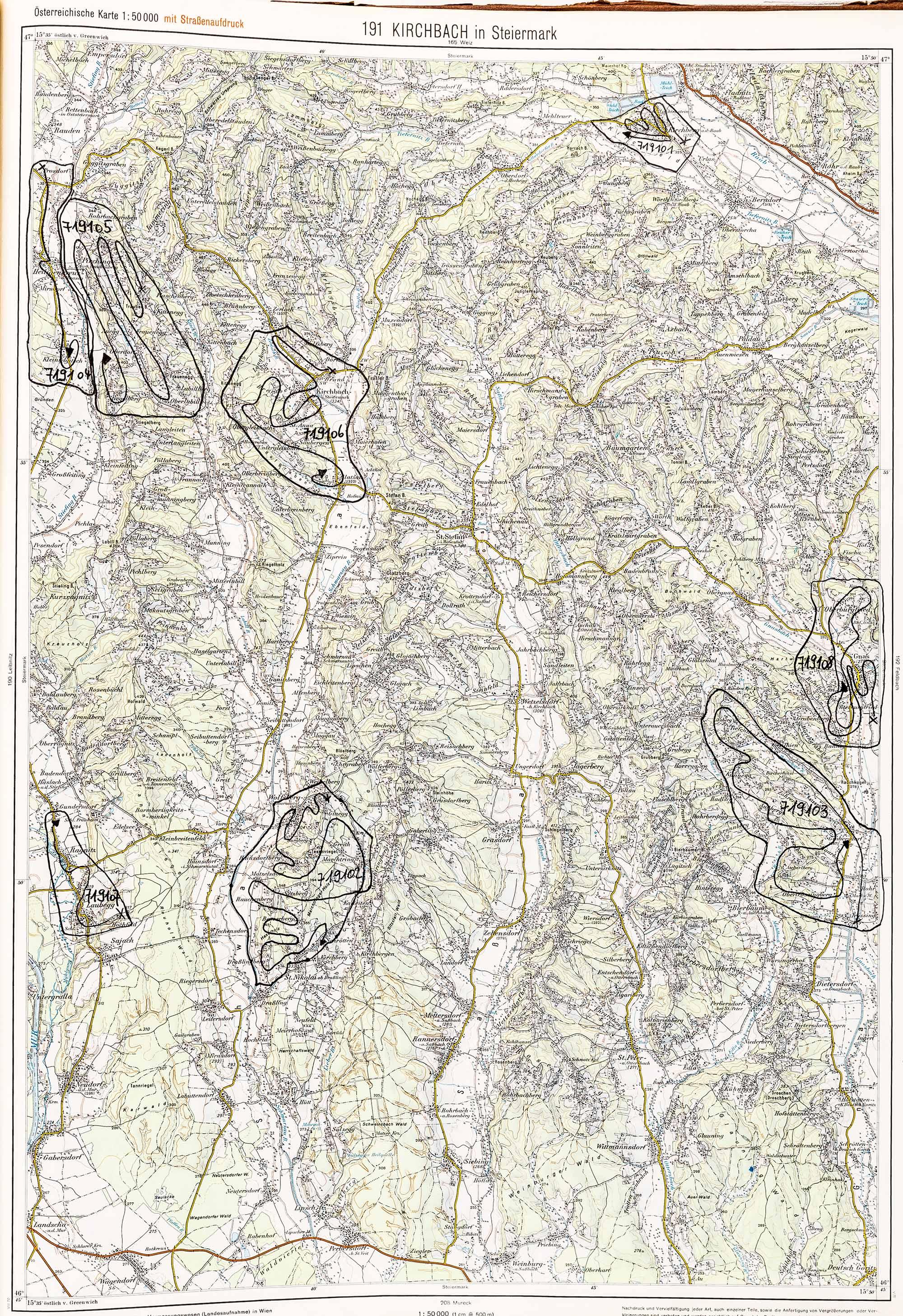 1975-1979 Karte 191