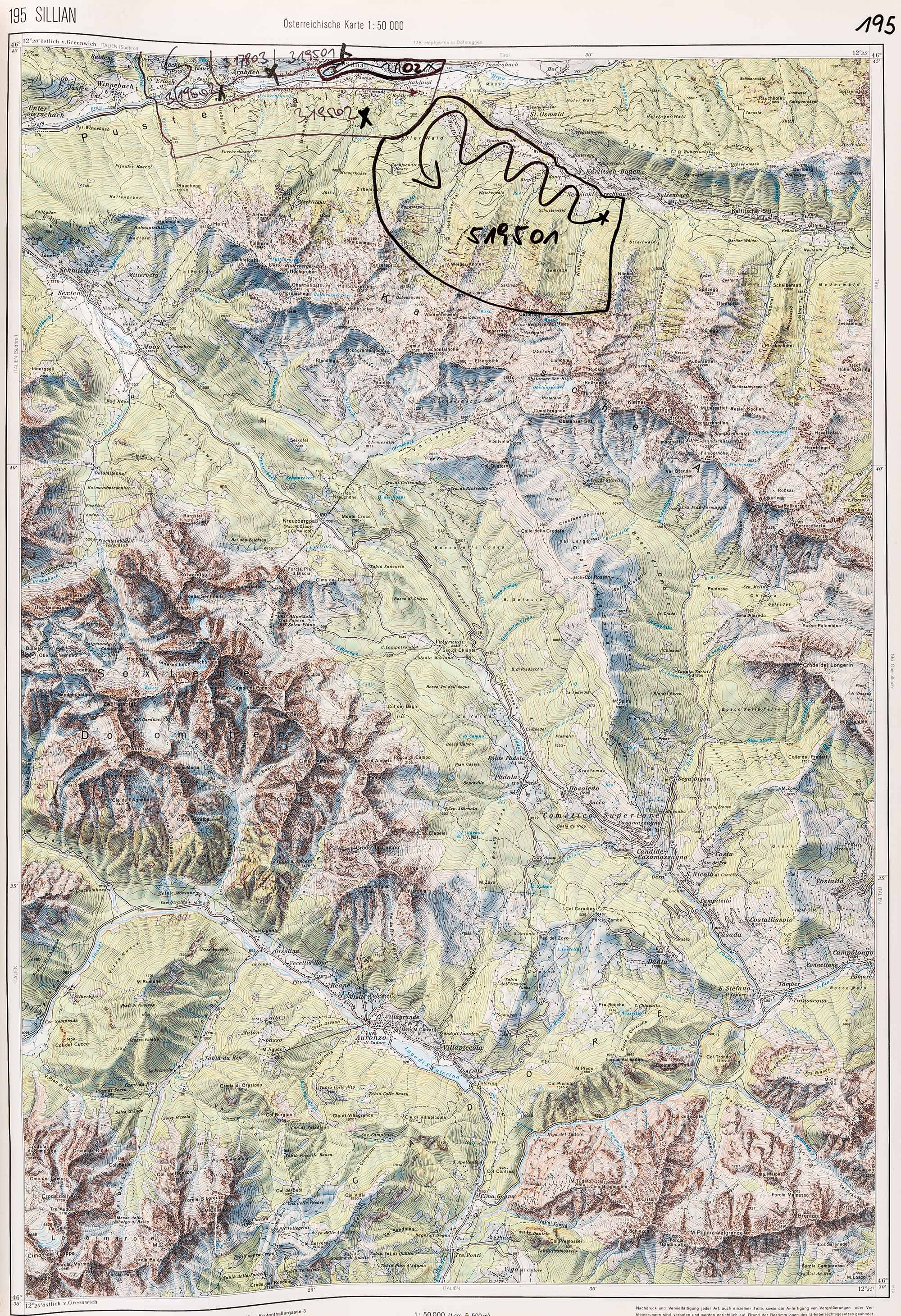1983-1986 Karte 195