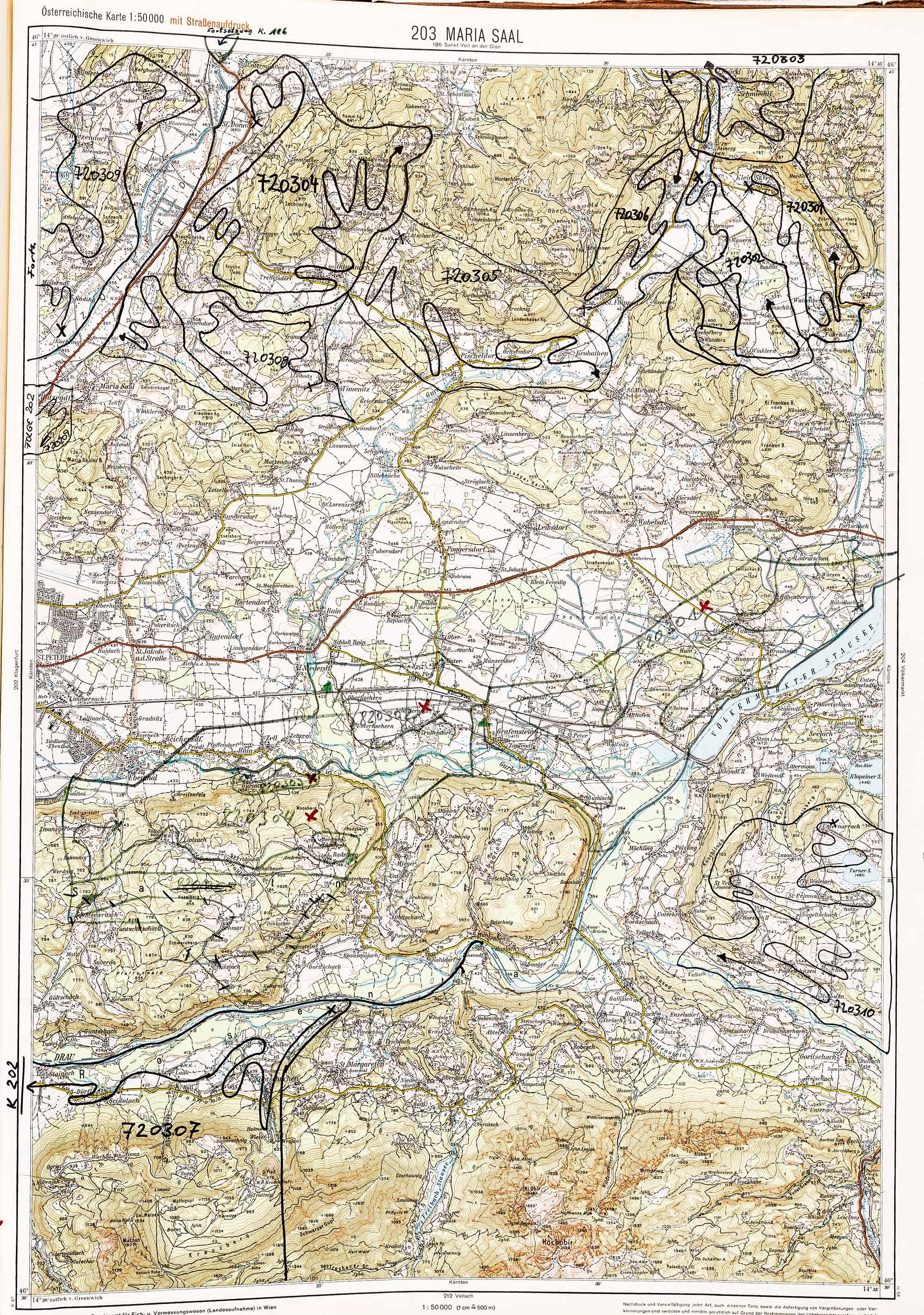 1975-1979 Karte 203