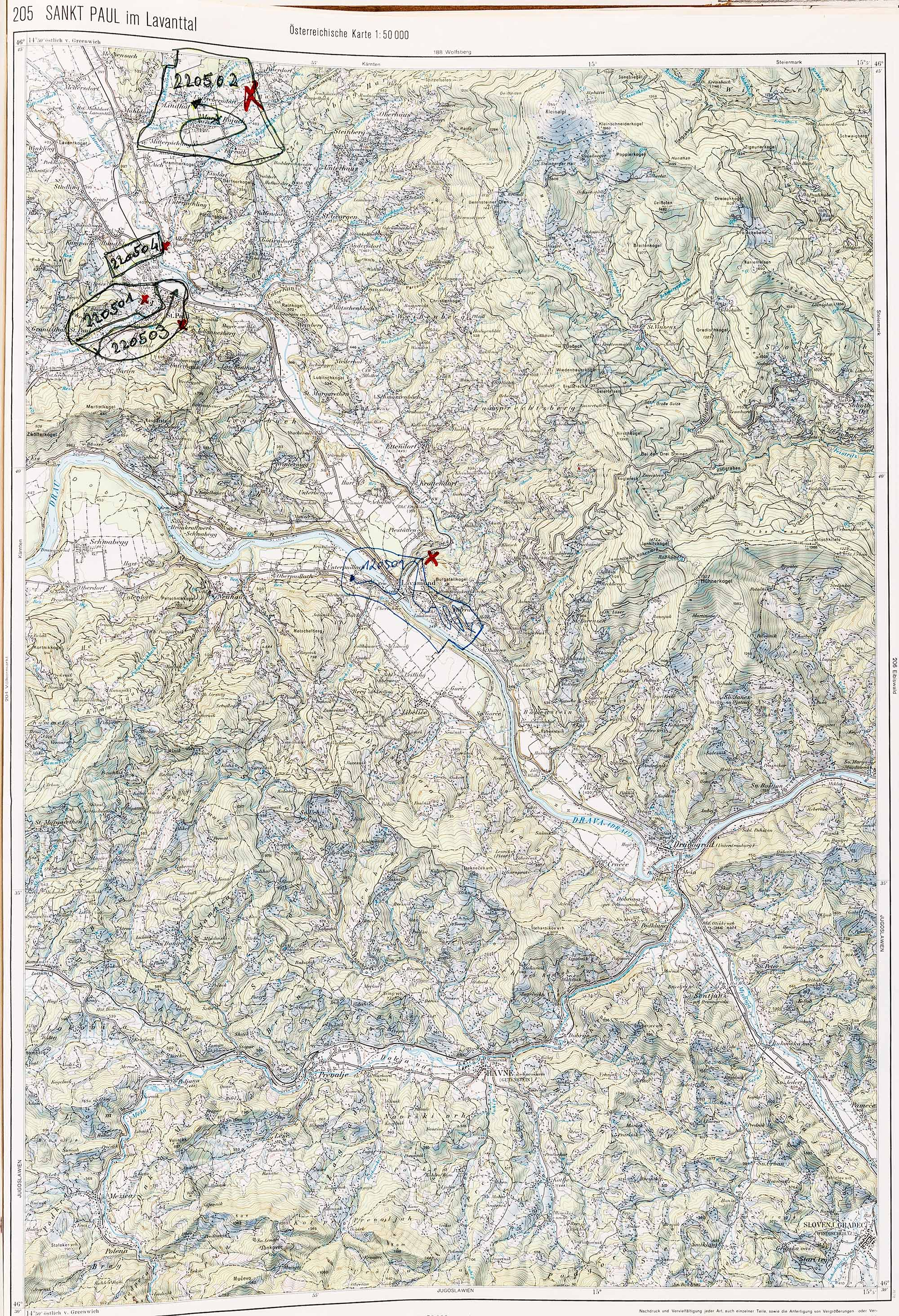 1979-1982 Karte 205